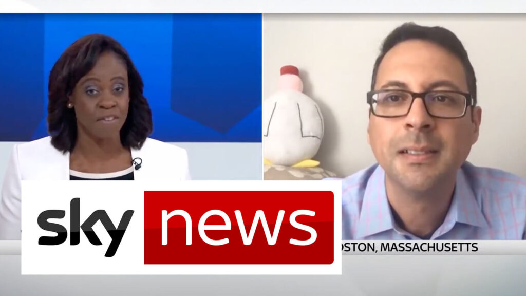 Everbridge CTO, Imad Mouline interview with Sky News